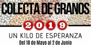 Un kilo de esperanza | Arranca la gran colecta de granos 2019 de Cáritas Diocesana