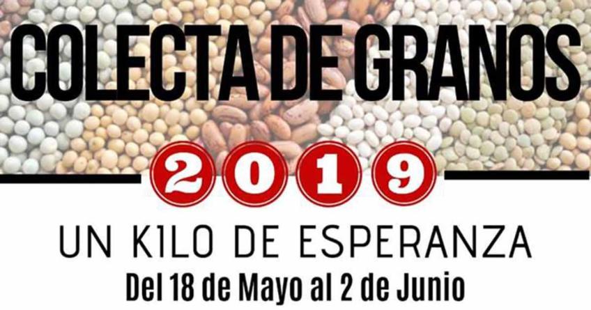 Un kilo de esperanza   Arranca la gran colecta de granos 2019 de Cáritas Diocesana