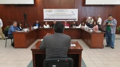 Comparecen candidatos a Comisionado Estatal de Atención Integral a Víctimas