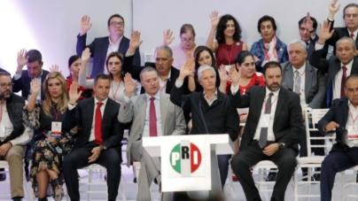 PRI dice no a que INE organice su elección interna