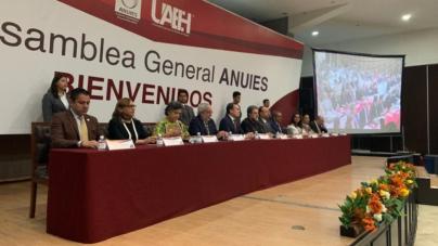 ANUIES llama a congresos a no reformar leyes orgánicas de universidades; SEP refrenda su apoyo