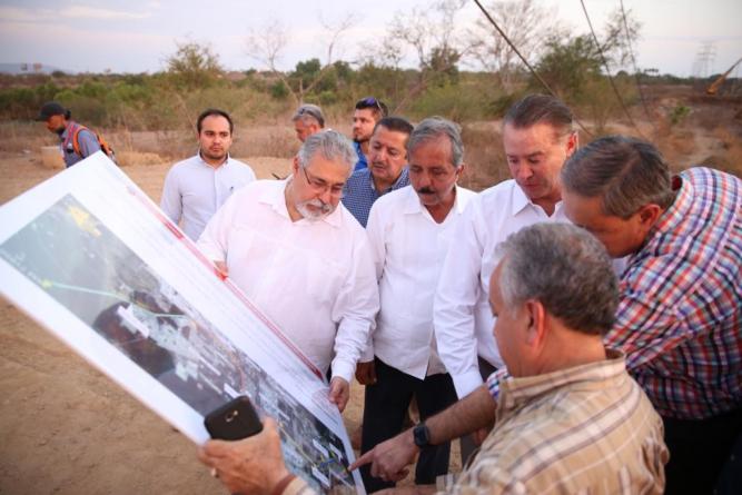 Arranca revestimiento y ampliación del dren Bacurimí