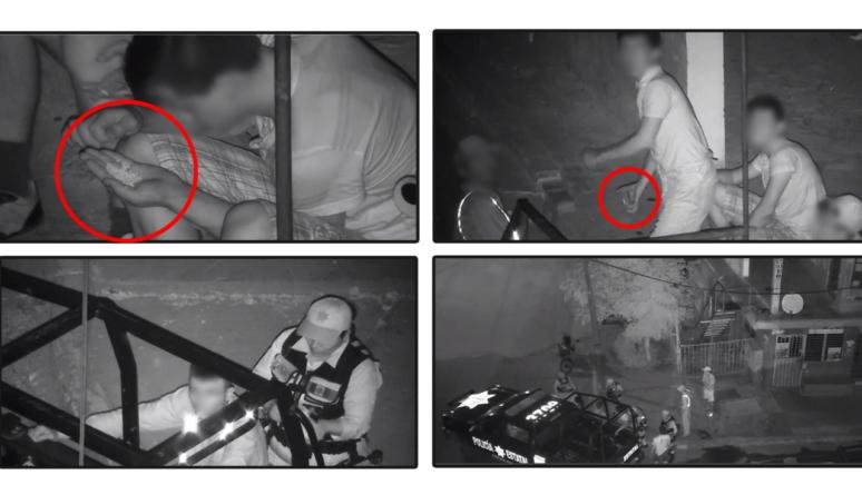 Detienen a cuatro por 'agresión' a cámara de videovigilancia en Navolato