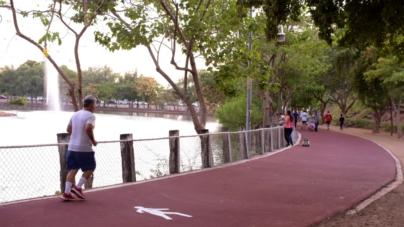 ¡A correr! | Ya está rehabilitada la trotapista del Parque 87
