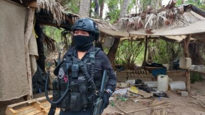¿Cómo es un narcolaboratorio? | Desmantelan 3 sitios de producción de drogas en Eldorado