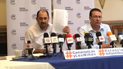Si Jaime Montes no paga a guarderías podría ir a la cárcel: Carlos Castaños