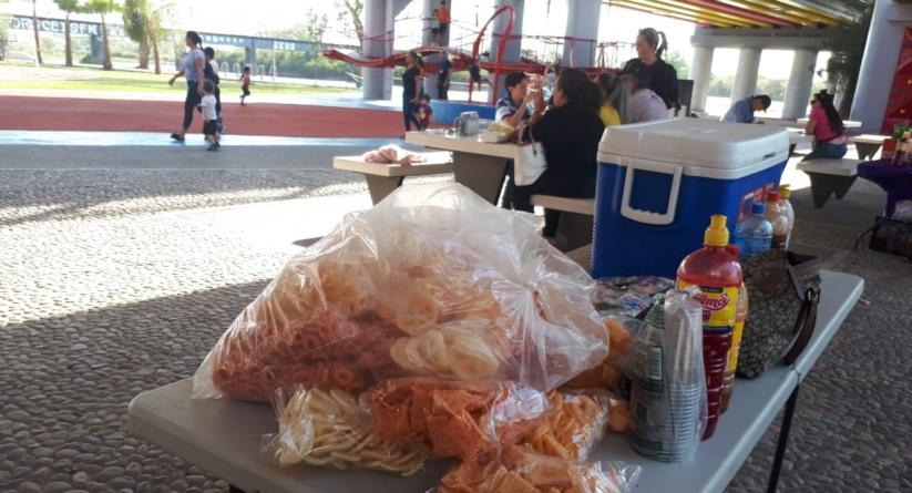Ayuntamiento de Culiacán retira a vendedores ambulantes del Parque Acuático Tres Ríos