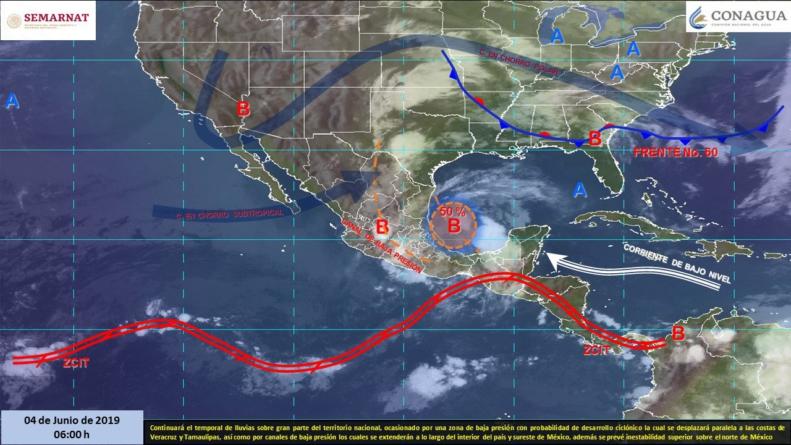 ¡Parece que va a llover! | Conagua advierte lluvias aisladas para Sinaloa