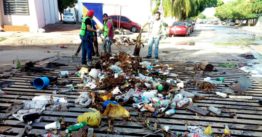 ¿A dónde va tu basura? | Lluvias del fin de semana acumularon 6 toneladas de desechos en Culiacán