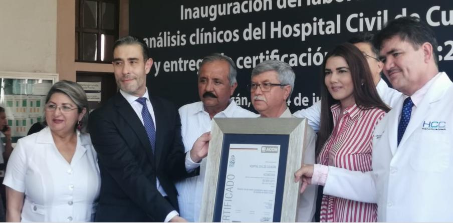 Mejores servicios | Hospital Civil de Culiacán inaugura nuevo laboratorio de análisis clínicos