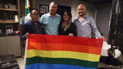"""""""Menos promesas y más acciones"""", asegura Quirino a representantes LGBTI+ en Sinaloa"""