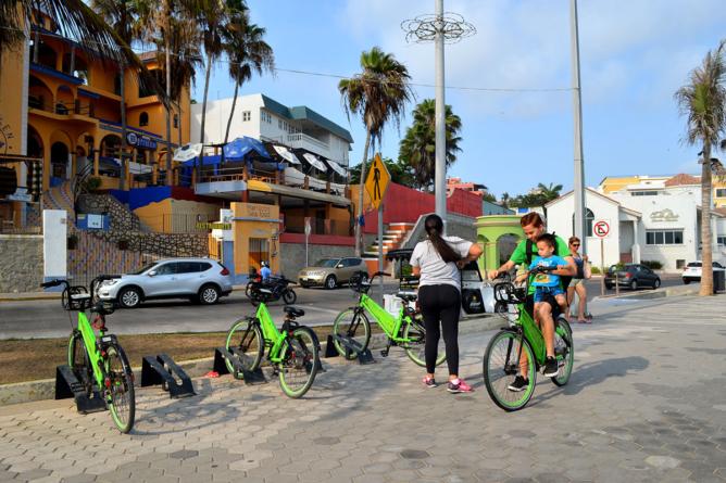 Sinaloa bicicletero   Bici pública en Mazatlán… ¿transporte público o atracción turística?