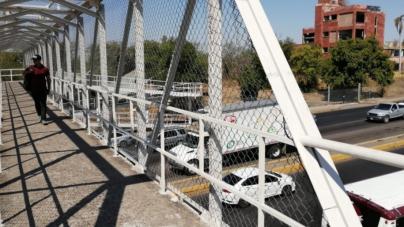 Mientras no haya pasos a nivel de banqueta, culichis deben utilizar puentes peatonales: SSPyTM