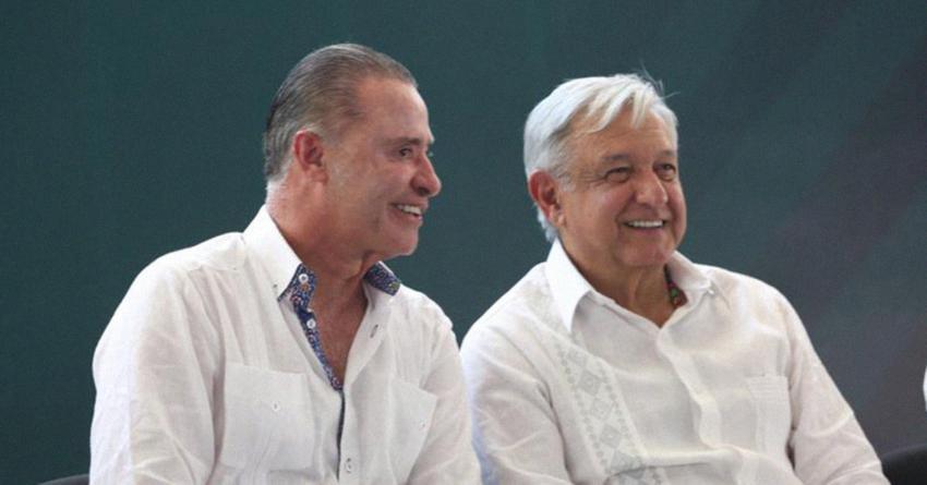 AMLO garantizó la conclusión de obras estratégicas para Sinaloa, asegura Quirino Ordaz