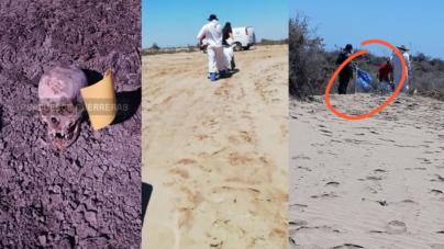 Sabuesos guerreras encuentran restos humanos en fosas clandestinas de Eldorado