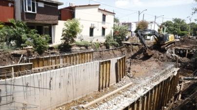 Ni colapso ni aumento de precio en colector Agustina Ramírez, asegura obras públicas