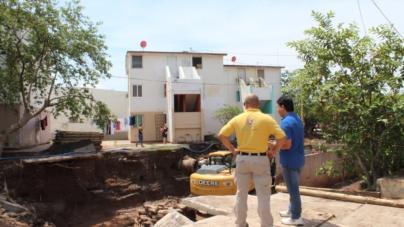 Sin riesgo de derrumbe o colapso edificios de Infonavit Humaya, asegura Protección Civil