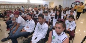 Reconocen a 63 niños ganadores en Juegos Deportivos Nacionales Escolares de Educación Básica