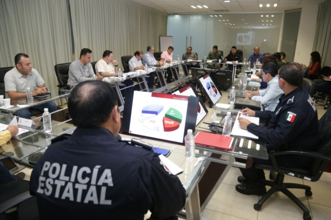 Se integra Guardia Nacional en Reunión Semanal de Seguridad