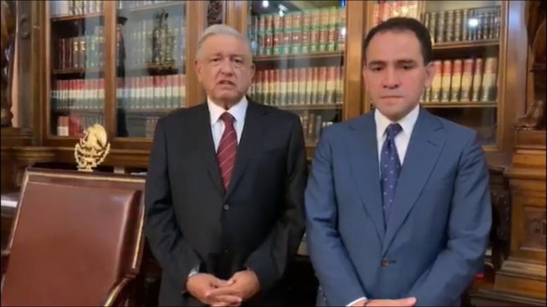 Se le va otro a AMLO    Renuncia Carlos Urzúa a Hacienda; Arturo Herrera es el nuevo titular