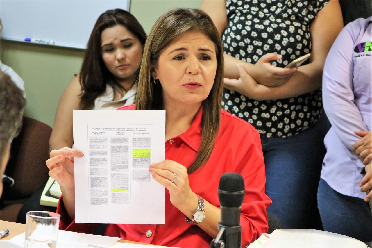 La Auditora Superior del Estado se retractó de su acusación contra Armando Villarreal Ibarra