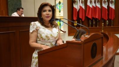 """""""Ante el riesgo, alto a la adopción privada"""" exige diputada Gloria Himelda Félix Niebla"""