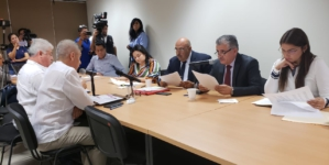 """""""Disparan"""" acusaciones a secretario de Seguridad Pública en reunión con diputados"""