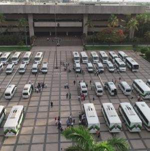 Ya son 200 los camiones entregados por el Gobierno de Sinaloa
