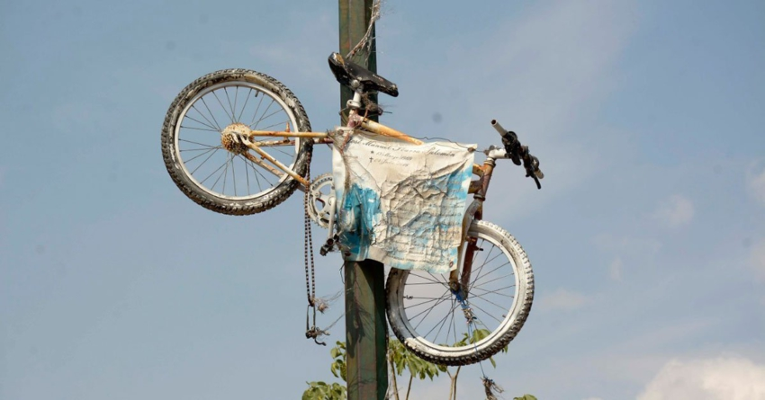 Sinaloa bicicletero   Bicicletas blancas: el recordatorio de la tragedia
