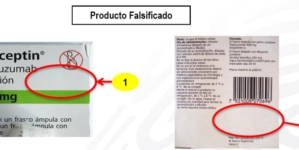 Coepriss alerta sobre la falsificación del producto Herceptin