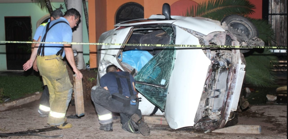 Joven muere tras chocar con una palmera en La Higuerita