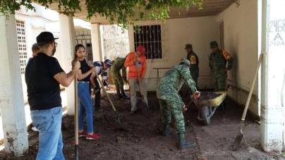 Por lluvias, SSPyTM, activó plan de auxilio para apoyar a la ciudadanía
