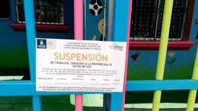 Suspende Coepriss cinco estancias infantiles en Culiacán por incumplir norma sanitaria