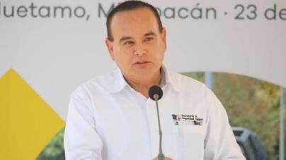 Muere el secretario de Seguridad de Michoacán después de estrellarse en un helicóptero