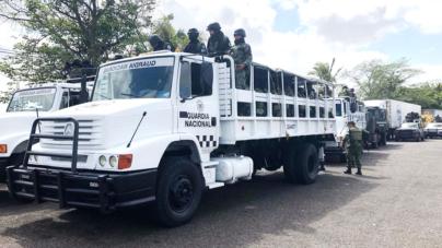 Llega a Culiacán la Guardia Nacional