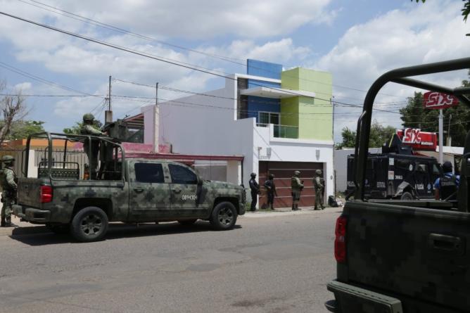 SSPE asegura narcolaboratorio en la colonia Díaz Ordaz