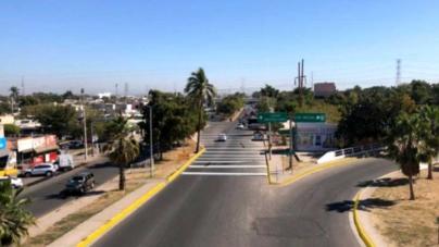 'Cero y van cuatro' | Construyen nuevo paso peatonal frente a clínica del IMSS Humaya