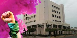 Con glitter y destellos |Convocan feministas a protestar en Fiscalía de Sinaloa
