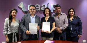 Derecho a Saber | Ceaip e Iniciativa Sinaloa firman convenio en materia de Transparencia