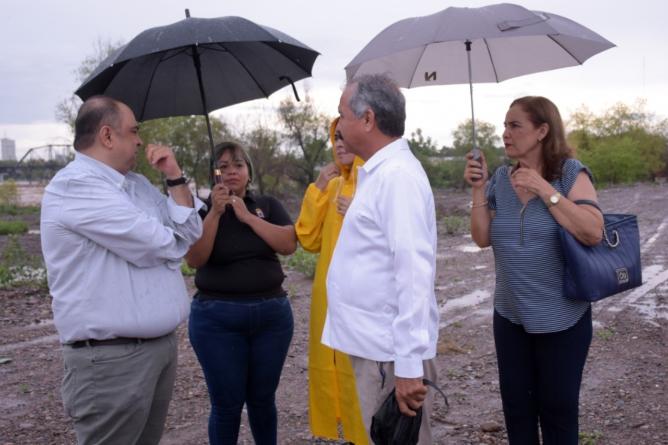 Supervisa ayuntamiento zonas de riesgo de inundación en la ciudad