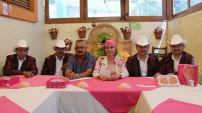 Sultanes de Nuevo León se unen a Cruzada Rosa para apoyar a sobrevivientes de cáncer de mama
