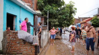 Solicita Gobernador declaratoria de emergencia para El Rosario; anuncia acciones para afectaciones por lluvias