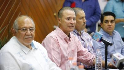 Quirino y 'Químico' Benítez anuncian inversión de 70MDP en obras para Mazatlán