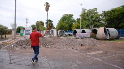 Lanza Gobierno licitación para obra de desviación del dren Juárez en Los Mochis