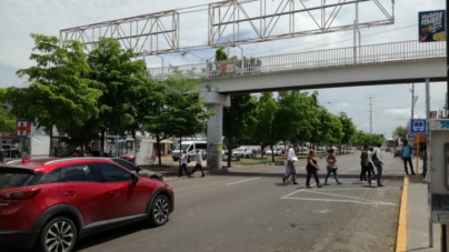 Realizan 'auditoria' a puentes peatonales; aplican método de Morelia, donde ya se demuelen