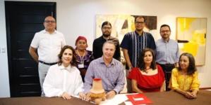 Se compromete Quirino Ordaz Coppel en apoyar la lectura, la artesanía y divulgación científica