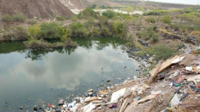 Investigan impacto ambiental y sanitario de basurón clandestino en Piggy Back