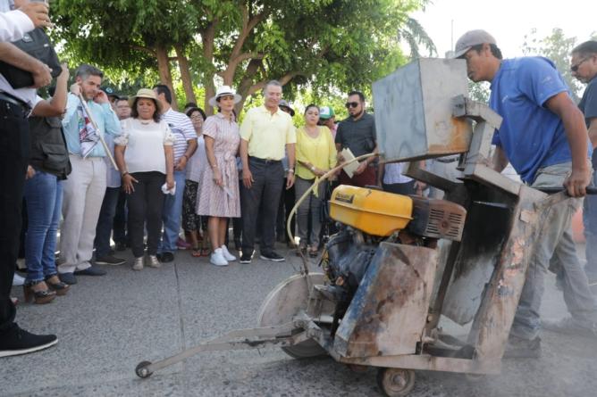 Inicia Gobierno del Estado colectores por 20 mdp en Guasave