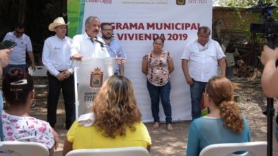 """Inicia Ayuntamiento de Culiacán primera etapa del """"Programa Municipal de Vivienda 2019"""""""