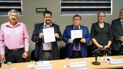 Firma Congreso y Tribunal Electoral Convenio de Colaboración Académica